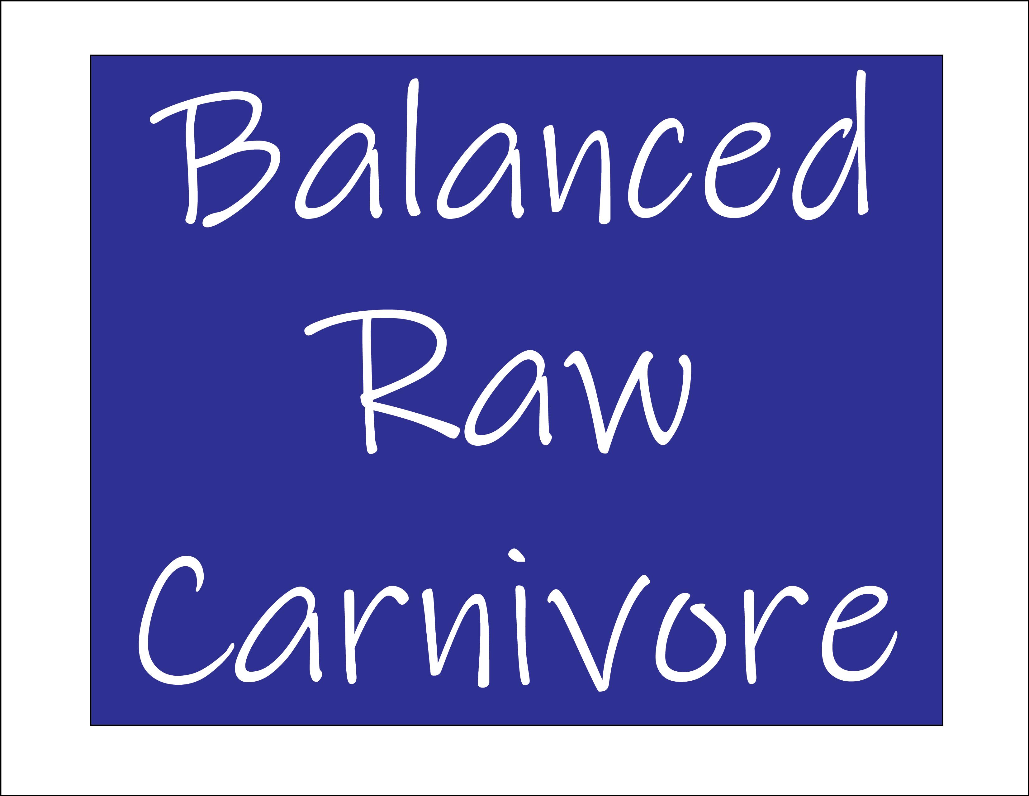 Balanced Raw Carnivore